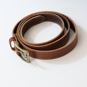 Talbots leather belt size L